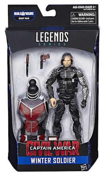 Marvel Legends Captain America Civil War: Winter Soldier Figure by Hasbro