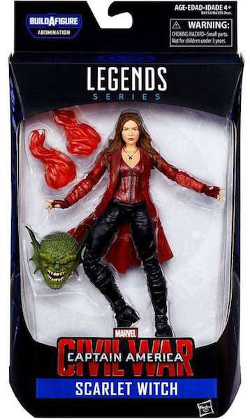 Marvel Legend Series: Scarlet Witch Figure by Hasbro-Hasbro- www.superherotoystore.com-Action Figure - 1