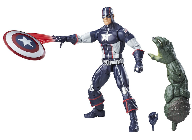 Marvel Legend Series: Secret War Captain America Action Figure by Hasbro-Hasbro- www.superherotoystore.com-Action Figure - 1