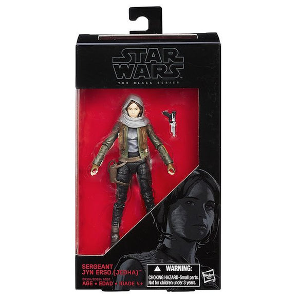 Star Wars Rogue One: Sergeant Jyn Erso Figure by Hasbro