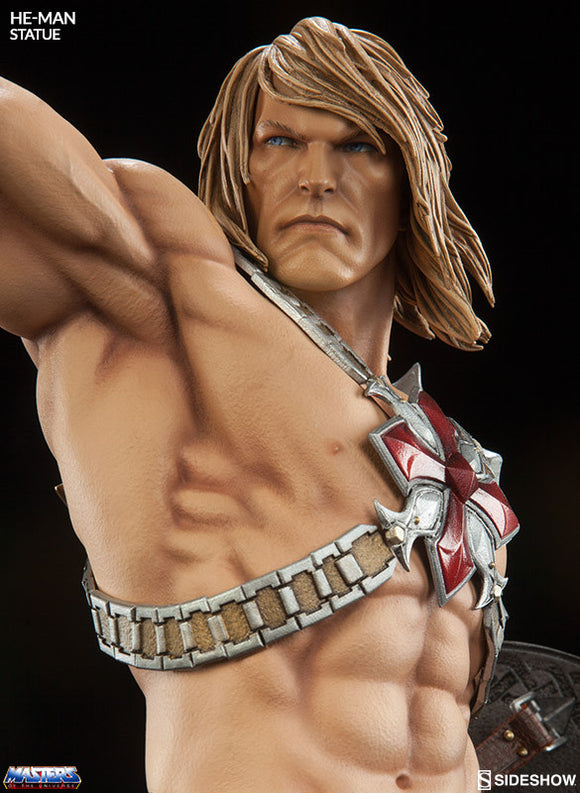 He-Man Premium Format Statue-Sideshow Collectibles- www.superherotoystore.com-Statue - 1