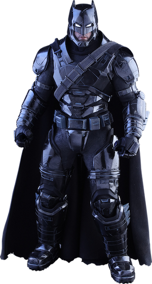 Dawn of Justice Armored Batman Black Chrome Version Figure by Hot Toys-Hot Toys- www.superherotoystore.com-Action Figure - 1