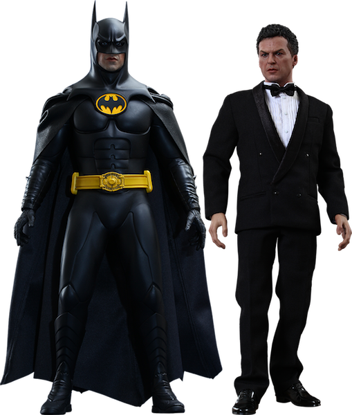 Batman Returns: Batman & Bruce Wayne 1/6th Scale Figure by Hot Toys