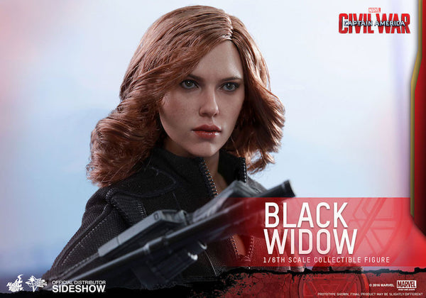 Captain America Civil War: Black Widow 1/6th Scale Figure by Hot Toys