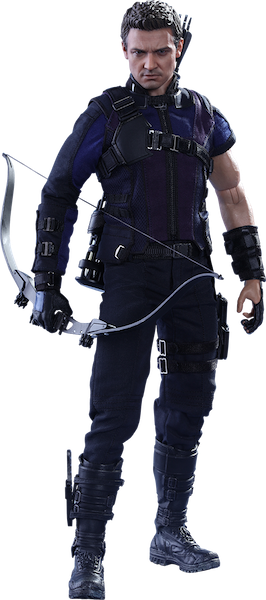 Captain America Civil War: Hawkeye 1/6th Scale Figure by Hot Toys