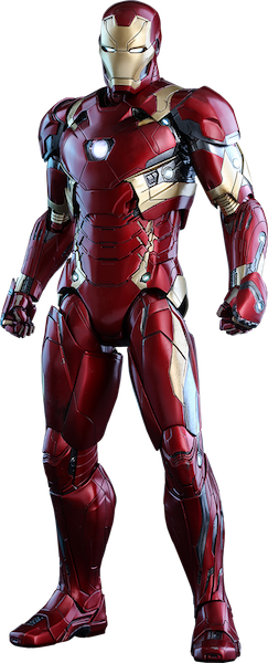 Captain America Civil War: Iron Man Mk XLVI 1/6th Scale Figure by Hot Toys