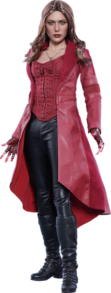 Captain America Civil War: Scarlet Witch 1/6th Scale Figure by Hot Toys