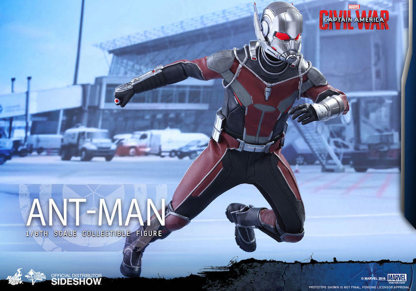 Captain America: Civil War Ant Man 1/6th Scale Figure by Hot Toys