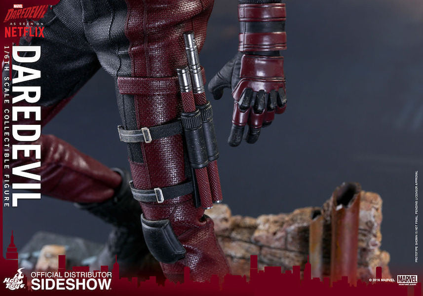 Daredevil Sixth Scale by Hot Toys-Hot Toys- www.superherotoystore.com-Action Figure - 12