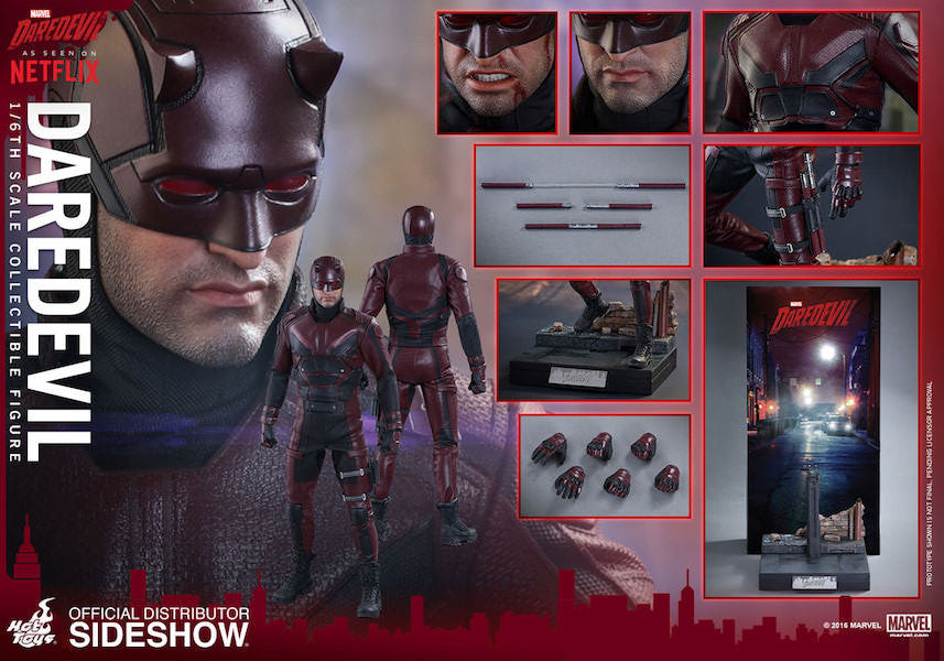 Daredevil Sixth Scale by Hot Toys-Hot Toys- www.superherotoystore.com-Action Figure - 13
