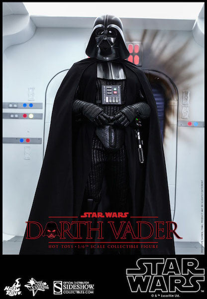 Star Wars Darth Vader Sixth Scale Action Figure by Hot Toys-Hot Toys- www.superherotoystore.com-Action Figure - 2