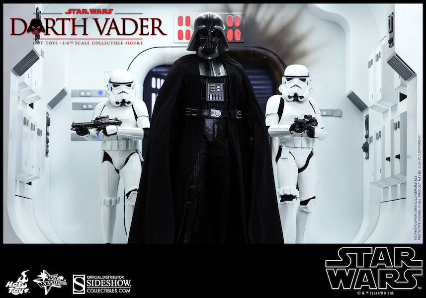Star Wars Darth Vader Sixth Scale Action Figure by Hot Toys-Hot Toys- www.superherotoystore.com-Action Figure - 12