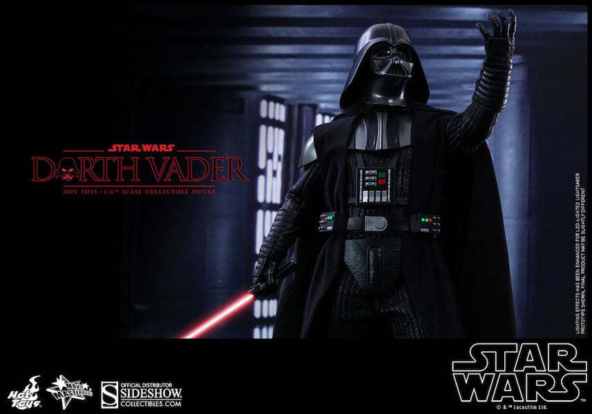 Star Wars Darth Vader Sixth Scale Action Figure by Hot Toys-Hot Toys- www.superherotoystore.com-Action Figure - 15