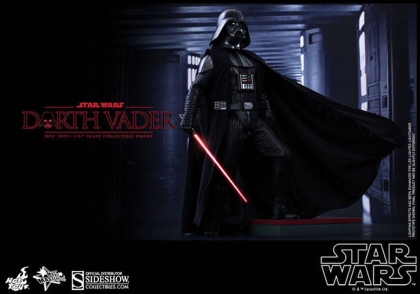Star Wars Darth Vader Sixth Scale Action Figure by Hot Toys-Hot Toys- www.superherotoystore.com-Action Figure - 4