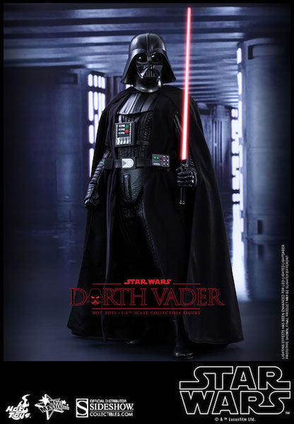 Star Wars Darth Vader Sixth Scale Action Figure by Hot Toys-Hot Toys- www.superherotoystore.com-Action Figure - 5