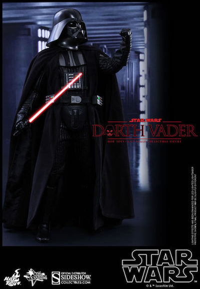 Star Wars Darth Vader Sixth Scale Action Figure by Hot Toys-Hot Toys- www.superherotoystore.com-Action Figure - 6