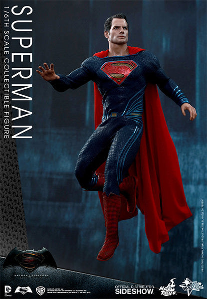 Dawn of Justice Superman Sixth Scale Action Figure by Hot Toys-Hot Toys- www.superherotoystore.com-Action Figure - 4