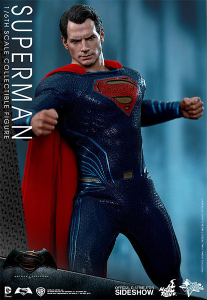 Dawn of Justice Superman Sixth Scale Action Figure by Hot Toys-Hot Toys- www.superherotoystore.com-Action Figure - 6