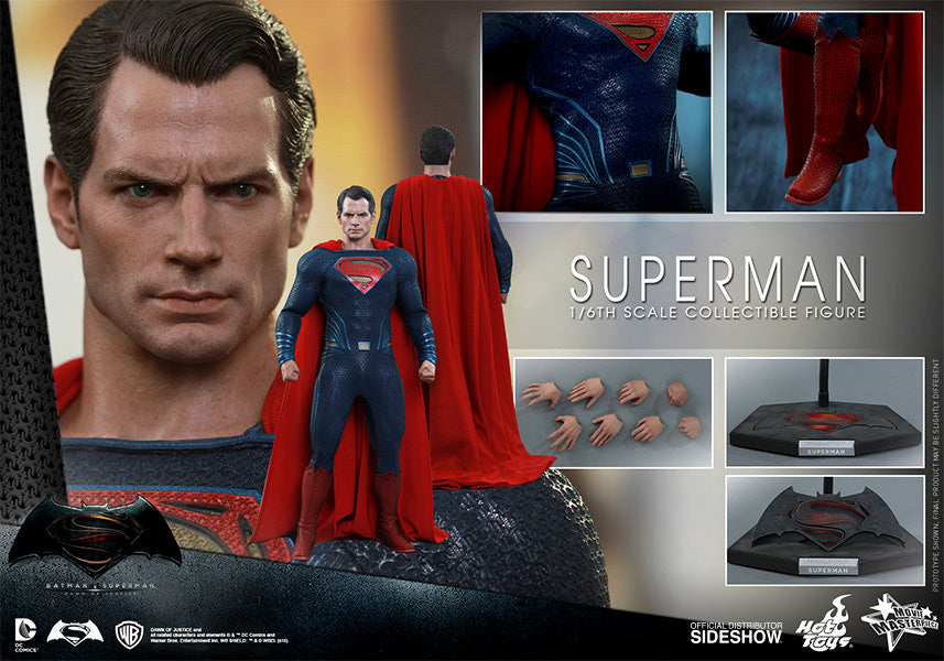 Dawn of Justice Superman Sixth Scale Action Figure by Hot Toys-Hot Toys- www.superherotoystore.com-Action Figure - 7