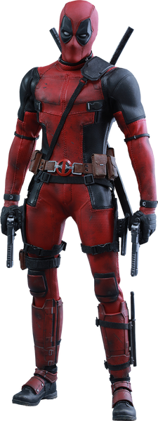 Deadpool Sixth Scale Figure-Hot Toys- www.superherotoystore.com-Action Figure - 1