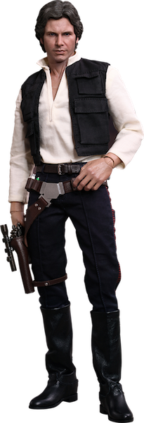 Star Wars Han Solo Sixth Scale Action Figure by Hot Toys-Hot Toys- www.superherotoystore.com-Action Figure - 1
