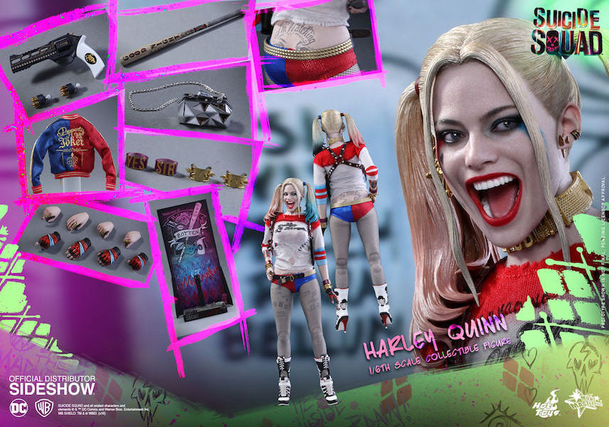 Suicide Squad Harley Quinn 1/6th Scale Figure by Hot Toys-Hot Toys- www.superherotoystore.com-Action Figure - 18