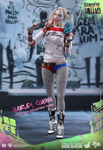 Suicide Squad Harley Quinn 1/6th Scale Figure by Hot Toys-Hot Toys- www.superherotoystore.com-Action Figure - 4