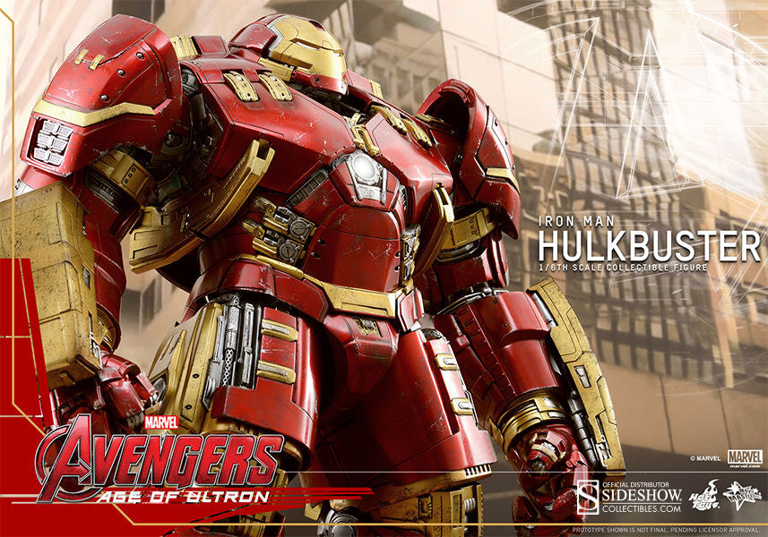 Age of Ultron: HulkBuster Sixth Scale Action Figure by Hot Toys-Hot Toys- www.superherotoystore.com-Action Figure - 11