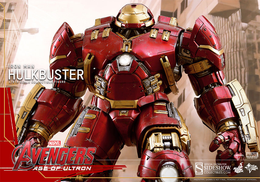 Age of Ultron: HulkBuster Sixth Scale Action Figure by Hot Toys-Hot Toys- www.superherotoystore.com-Action Figure - 2