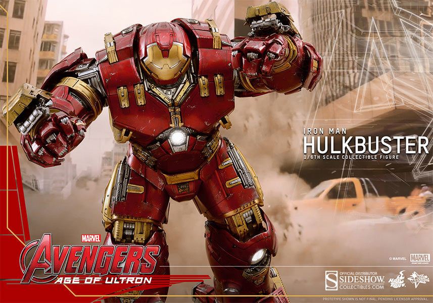 Age of Ultron: HulkBuster Sixth Scale Action Figure by Hot Toys-Hot Toys- www.superherotoystore.com-Action Figure - 12