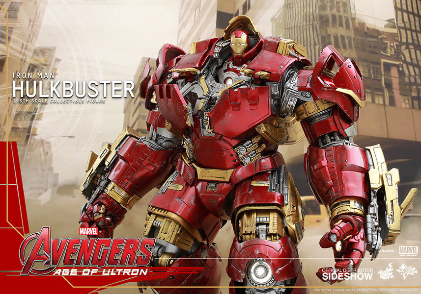 Age of Ultron: HulkBuster Sixth Scale Action Figure by Hot Toys-Hot Toys- www.superherotoystore.com-Action Figure - 4