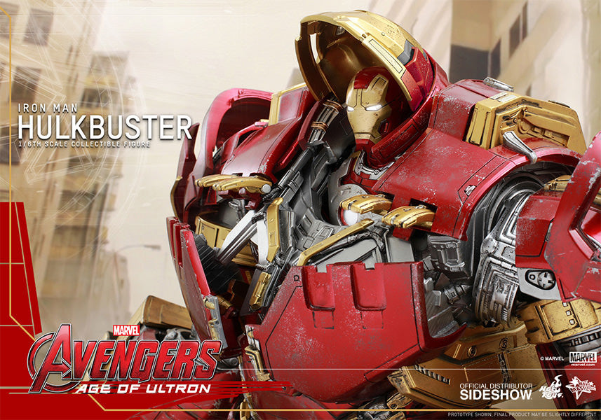 Age of Ultron: HulkBuster Sixth Scale Action Figure by Hot Toys-Hot Toys- www.superherotoystore.com-Action Figure - 5