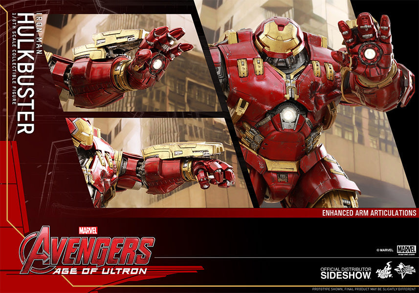Age of Ultron: HulkBuster Sixth Scale Action Figure by Hot Toys-Hot Toys- www.superherotoystore.com-Action Figure - 7