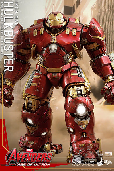 Age of Ultron: HulkBuster Sixth Scale Action Figure by Hot Toys-Hot Toys- www.superherotoystore.com-Action Figure - 8