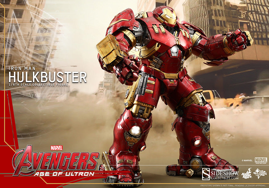 Age of Ultron: HulkBuster Sixth Scale Action Figure by Hot Toys-Hot Toys- www.superherotoystore.com-Action Figure - 9