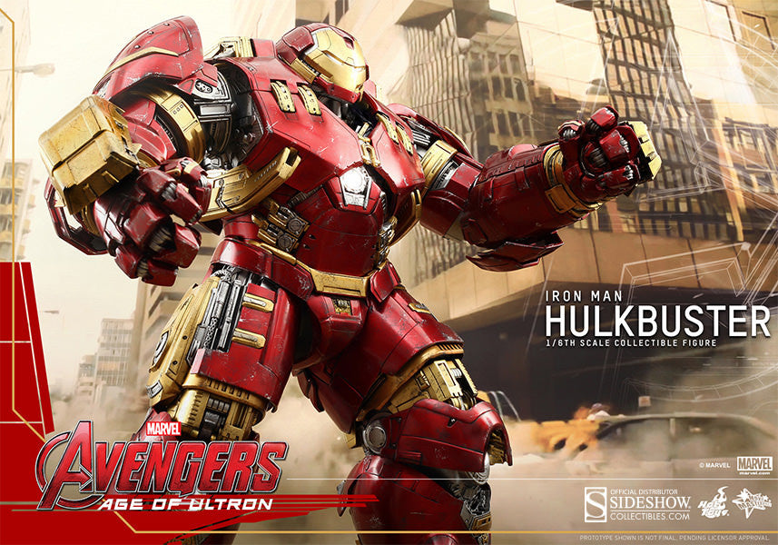 Age of Ultron: HulkBuster Sixth Scale Action Figure by Hot Toys-Hot Toys- www.superherotoystore.com-Action Figure - 10