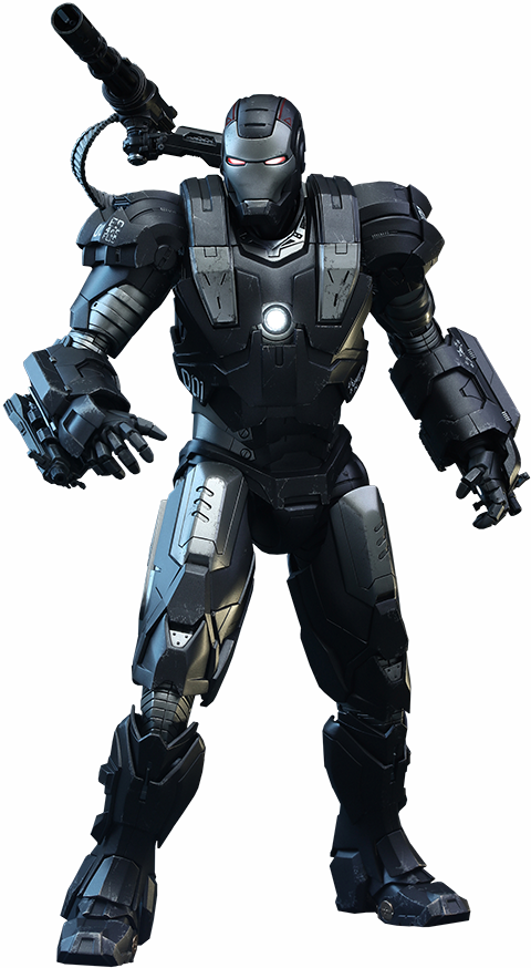 Iron Man 2 War Machine Sixth Scale Figure-Hot Toys- www.superherotoystore.com-Statue - 1