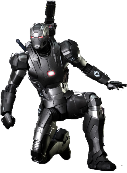 Iron Man 3: War Machine Mark II Sixth Scale Action Figure by Hot Toys-Hot Toys- www.superherotoystore.com-Action Figure - 1