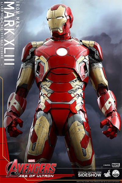 Avengers Age of Ultron - Iron Man Mark XLIII 1/4 Action Figure-Hot Toys- www.superherotoystore.com-Action Figure - 1