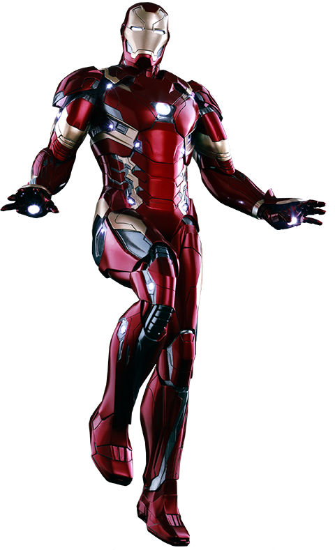 Iron Man Mark XLVI Sixth Scale Action Figure by Hot Toys-Hot Toys- www.superherotoystore.com-Action Figure - 1