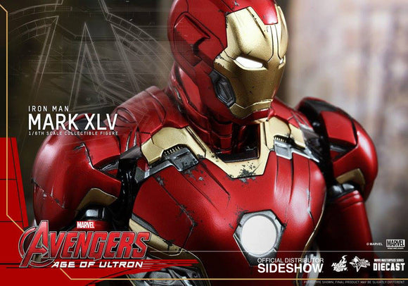 Iron Man Mark XLV Sixth Scale Figure-Hot Toys- www.superherotoystore.com-Action Figure - 1