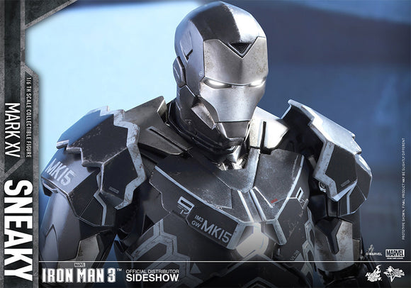 Iron Man Mark XV Sneaky Sixth Scale Figure-Hot Toys- www.superherotoystore.com-Action Figure - 1