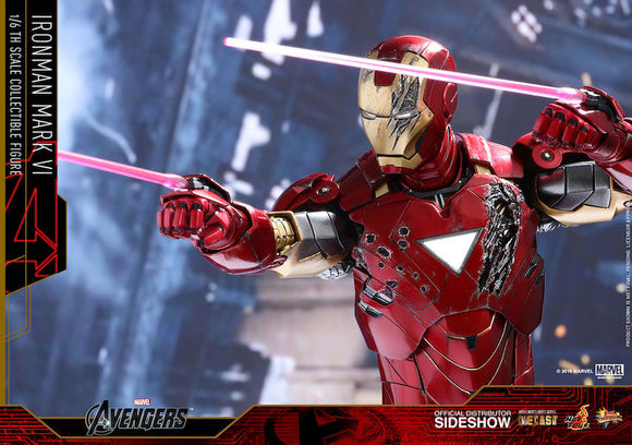 The Avengers: Iron Man Mk VI 1/6th Scale Figure by Hot Toys