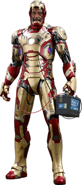 Iron Man 3: Iron Man Mark XLII 1/4th Scale Figure by Hot Toys