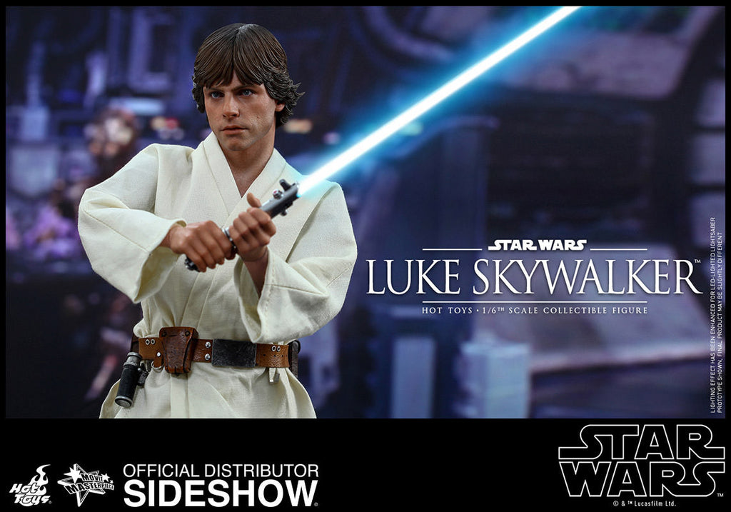 Star Wars Luke Skywalker Sixth Scale Action Figure by Hot Toys-Hot Toys- www.superherotoystore.com-Action Figure - 2