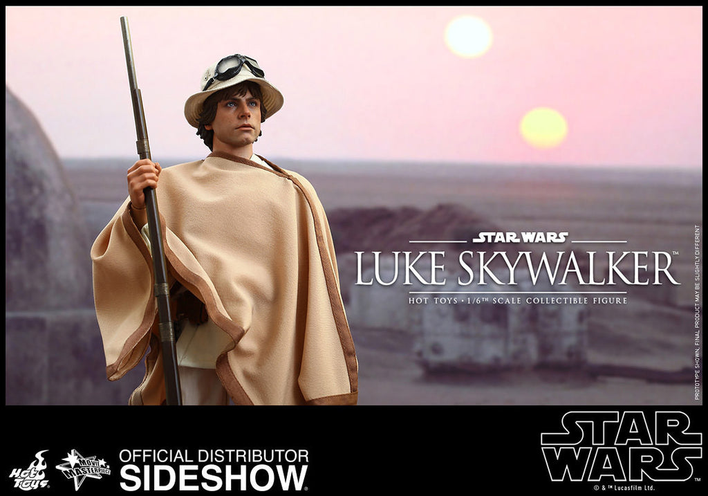 Star Wars Luke Skywalker Sixth Scale Action Figure by Hot Toys-Hot Toys- www.superherotoystore.com-Action Figure - 12