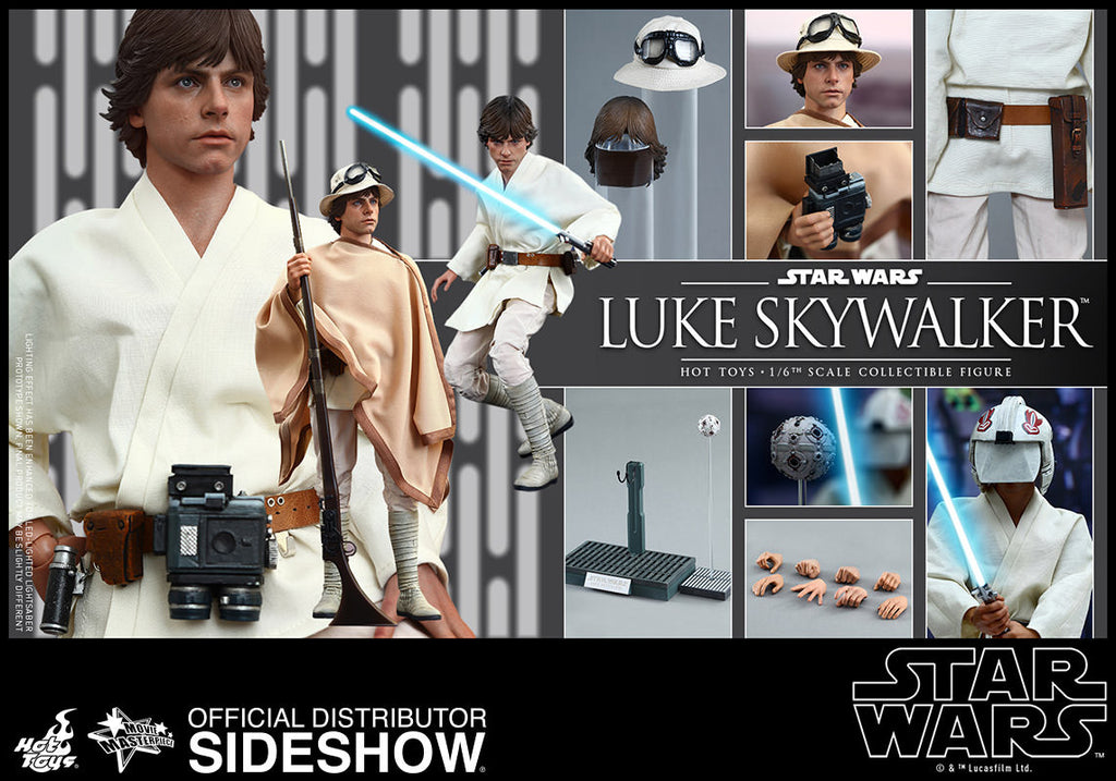 Star Wars Luke Skywalker Sixth Scale Action Figure by Hot Toys-Hot Toys- www.superherotoystore.com-Action Figure - 14