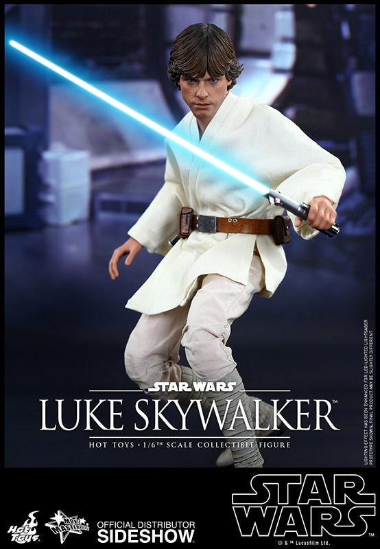 Star Wars Luke Skywalker Sixth Scale Action Figure by Hot Toys-Hot Toys- www.superherotoystore.com-Action Figure - 9