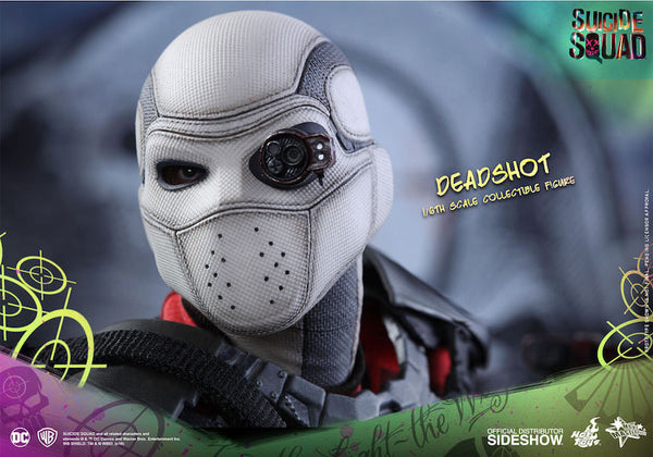 Suicide Squad Deadshot 1/6th Scale Figure by Hot Toys-Hot Toys- www.superherotoystore.com-Action Figure - 1