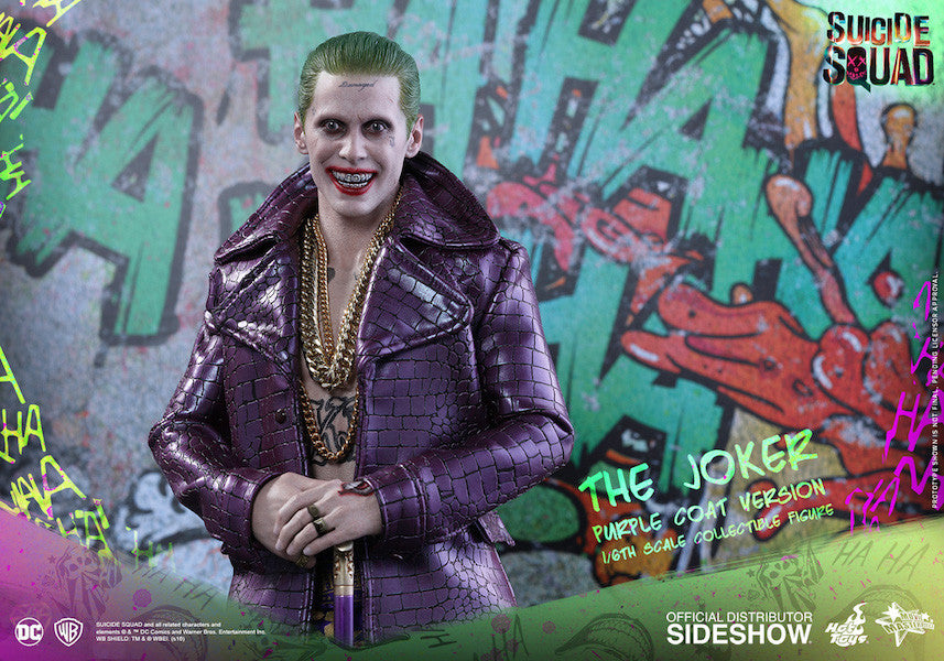 Suicide Squad Joker (Purple Coat Version) 1/6th Scale Figure by Hot Toys-Hot Toys- www.superherotoystore.com-Action Figure - 9